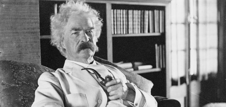 Vintage Mark Twain Photo